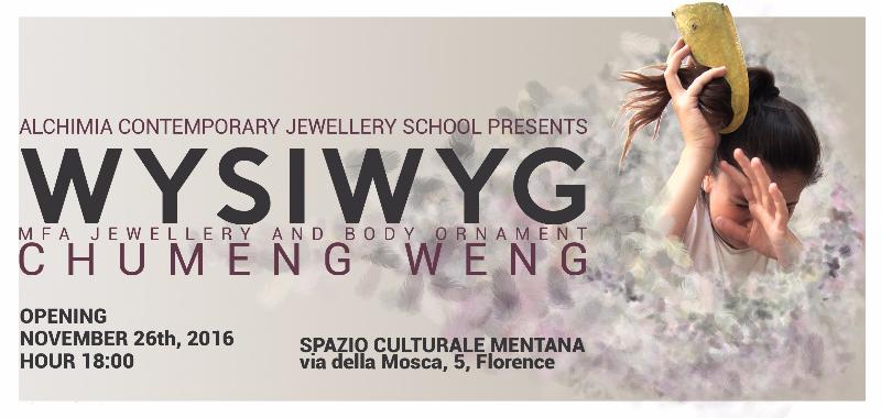 WYSIWYG - Chumeng Weng