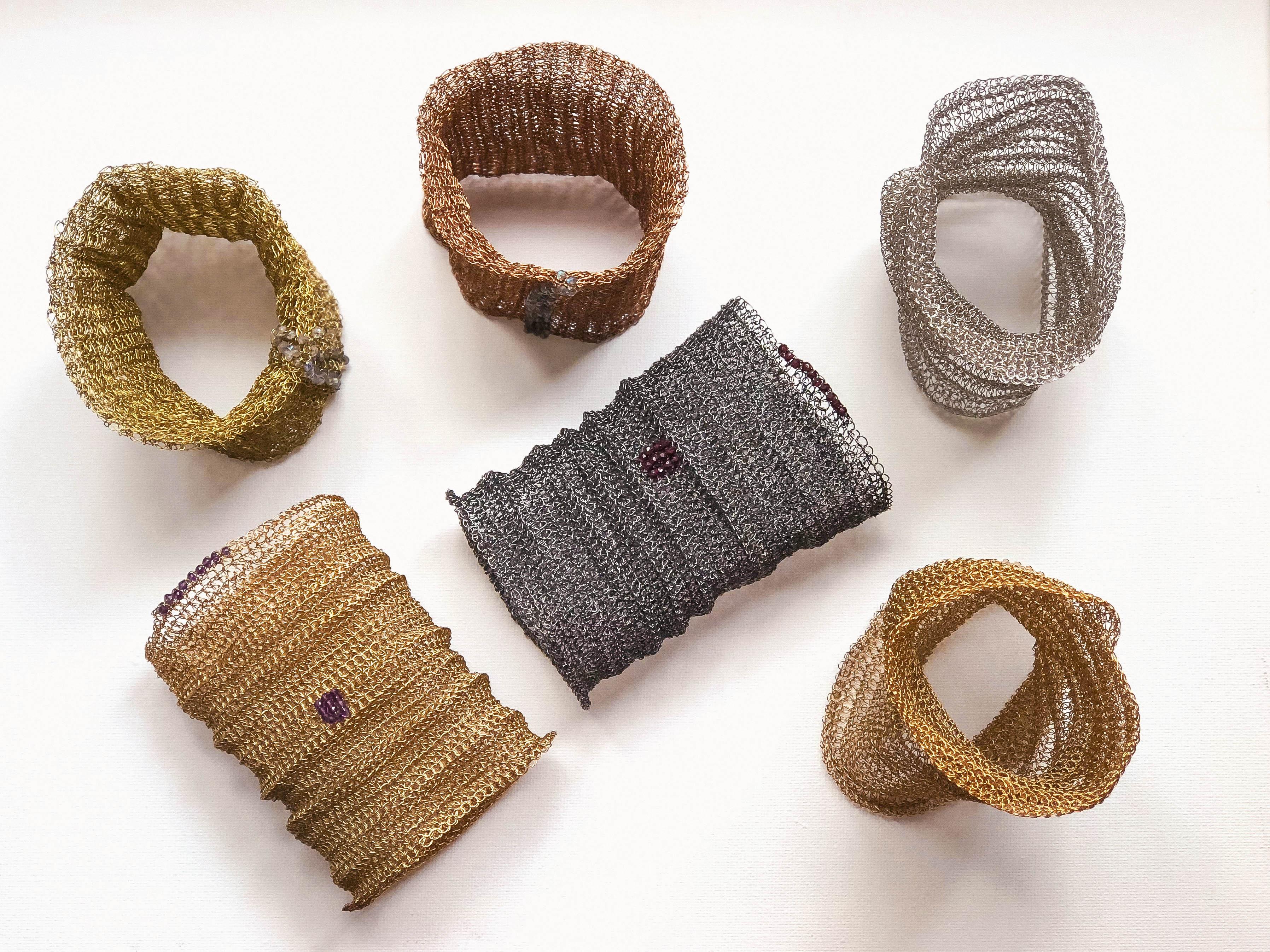 Metallic Weaving and wire textile jewellery Workshop