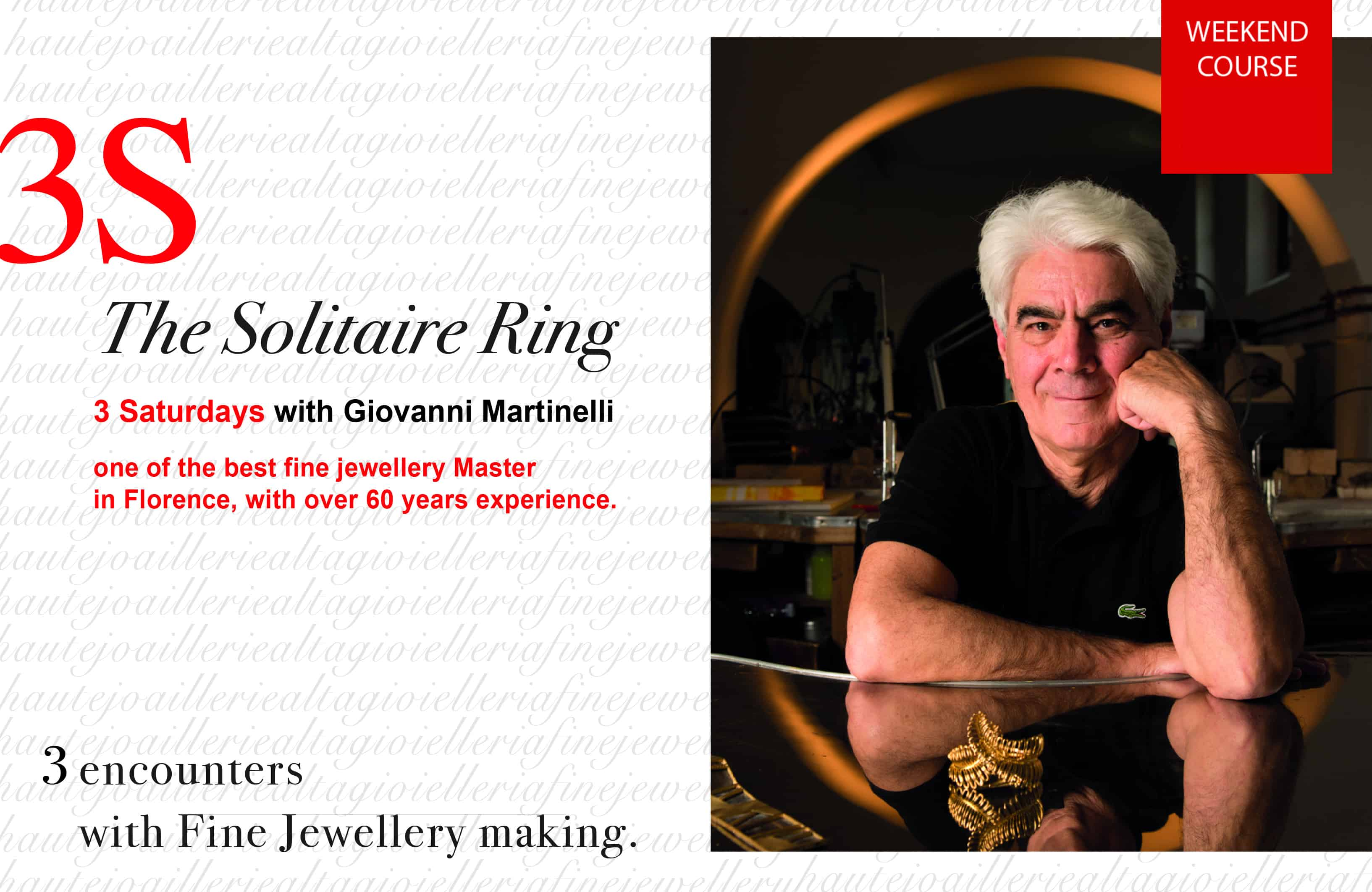 Workshop- Solitaire Ring