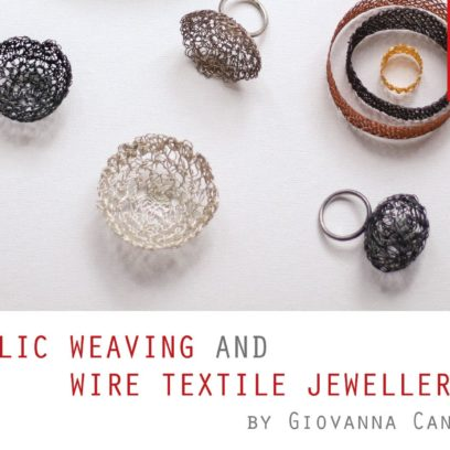 Metallic Weaving Giovanna Canu