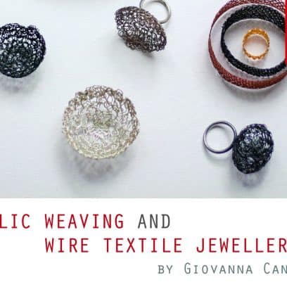 Weaving Giovanna Canu