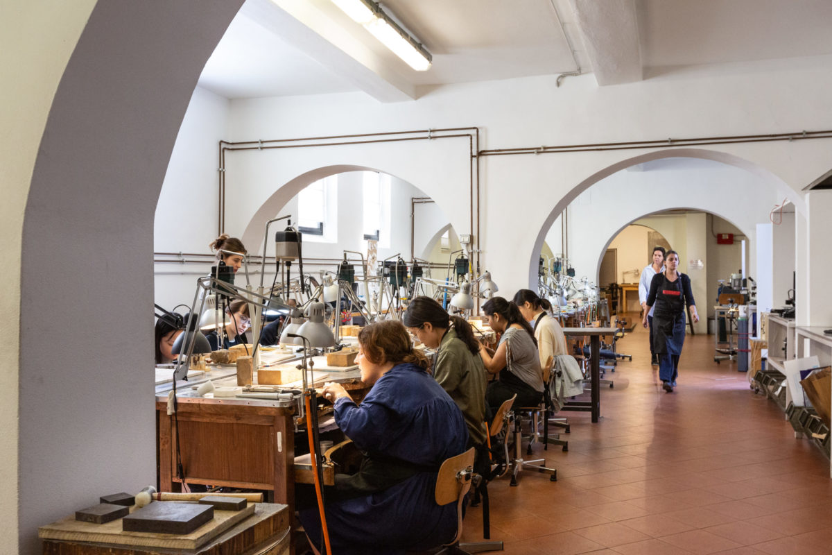 Florence jewelry goldsmith workshop