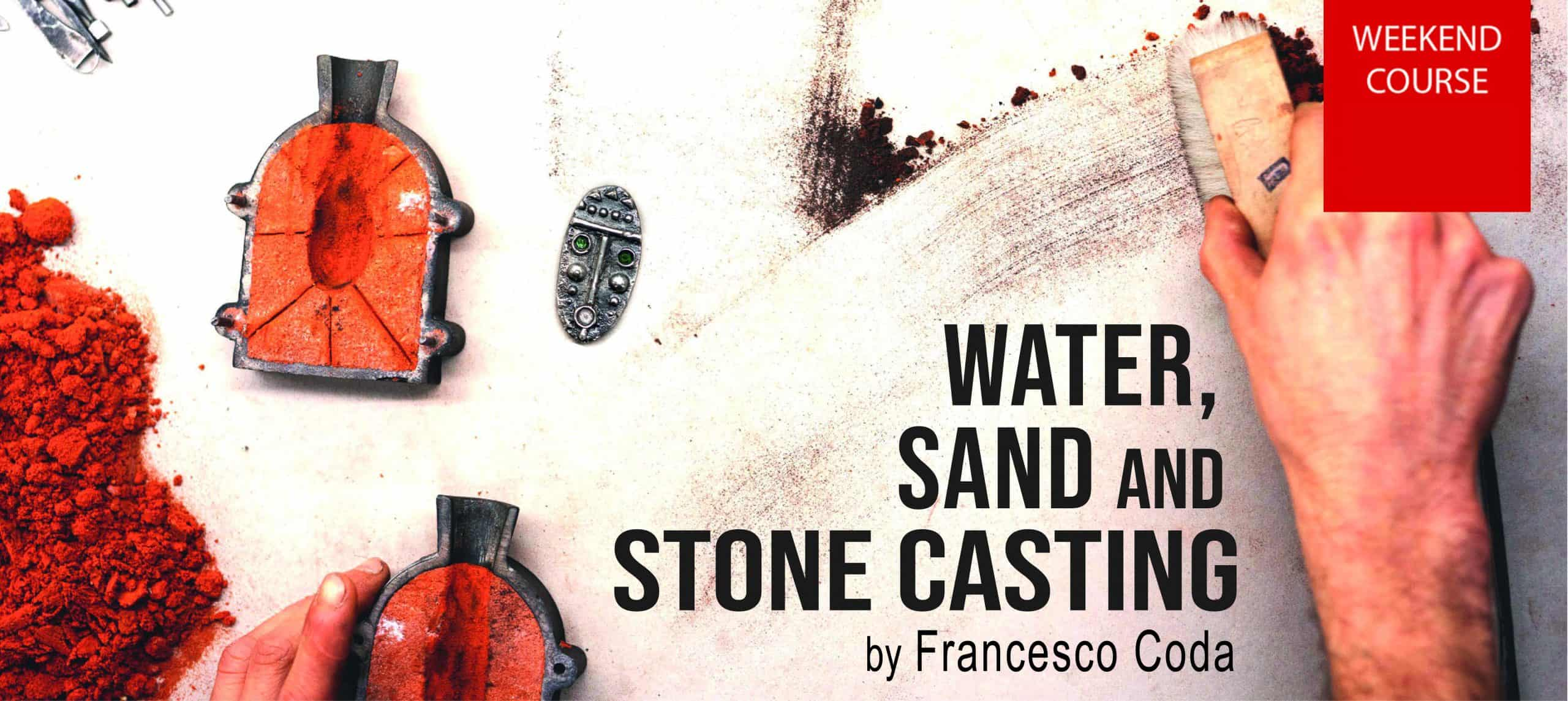Water, Sand and Stone Casting by Francesco Coda
