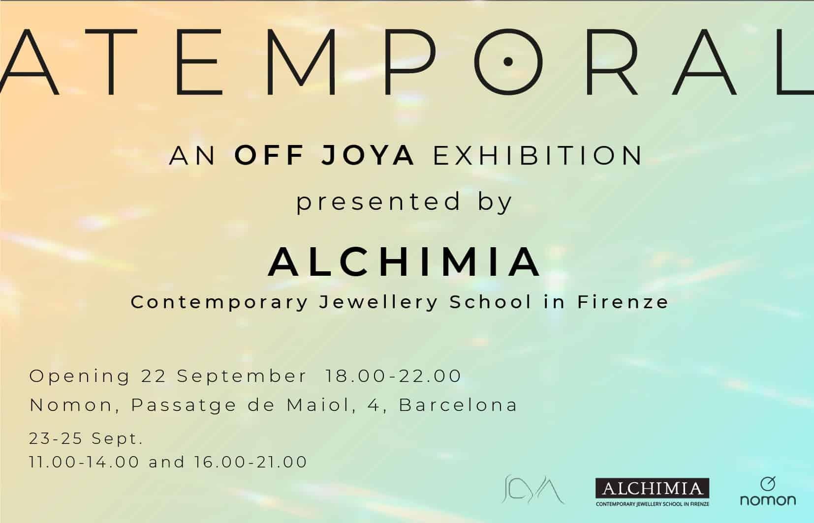 Atemporal, off Joya Barcelona 2021