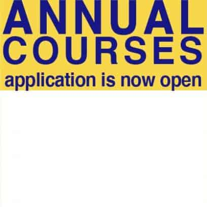 ANNUAL COURSES 2021 2022